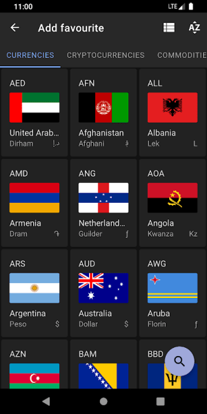 Exchange Rates - Currency Converter 2.6.5 Screen 5