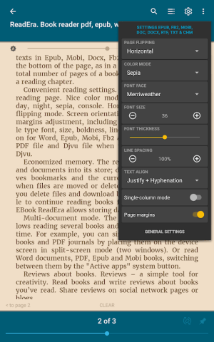 ReadEra - book reader pdf, epub, word 19.11.05+1020 Screen 11