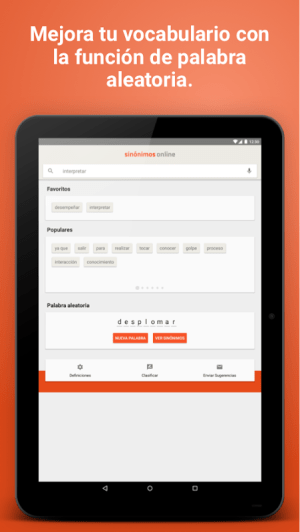 Diccionario Sinónimos Offline 2.7.0 Screen 10