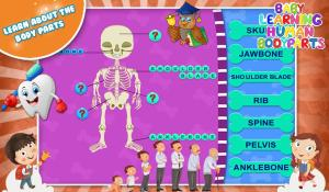 Baby Learning Human Body Parts 1.0.1 Screen 1