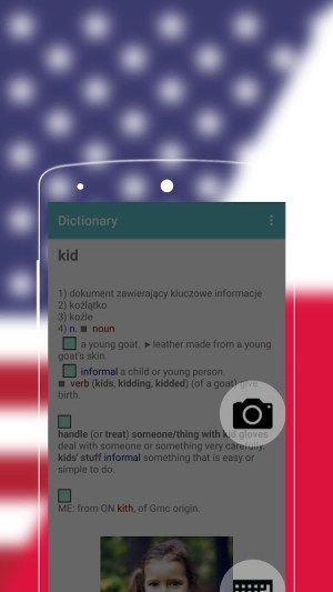 Android English to Polish Dictionary Screen 5