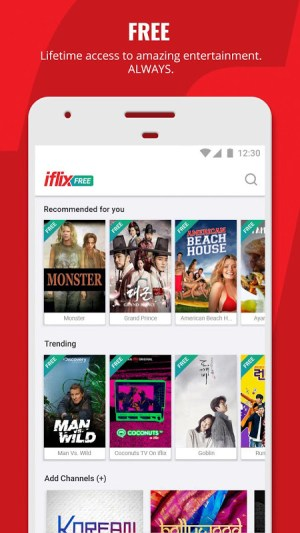 iflix 3.8.0-13142 Screen 1