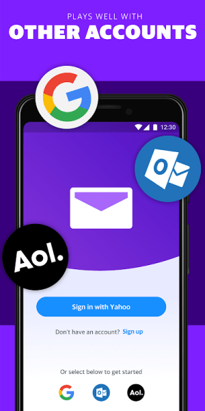 Android Yahoo Mail – Stay Organised Screen 8