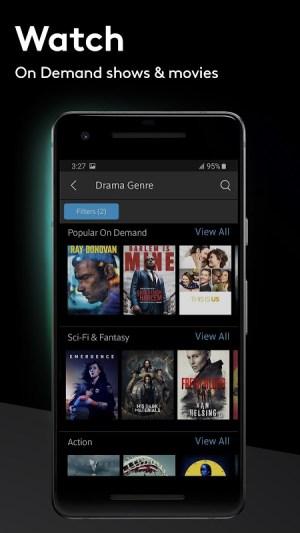 Android Xfinity Stream Screen 6