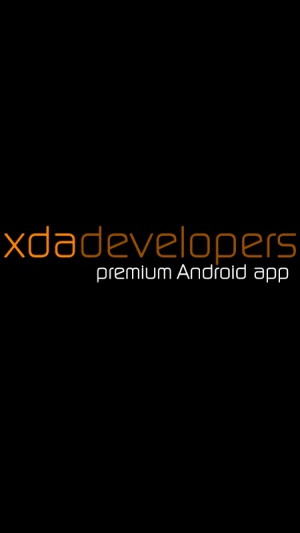 Android XDA Legacy Screen 1