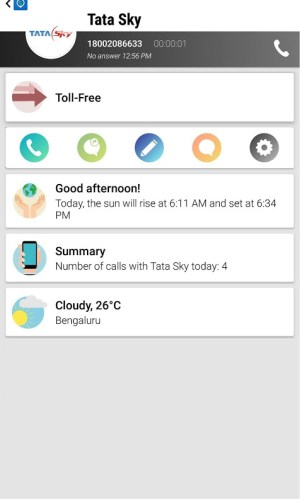 Android Phone 2 Location - Caller Id Screen 6