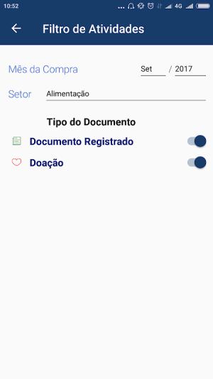 Nota Fiscal Paulista 2.2.3 Screen 4