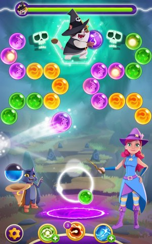 Bubble Witch 3 Saga 6.3.5 Screen 1
