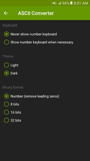 ASCII Converter - Text Encoder 1.2.4 Screen 5