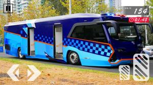 Police Bus Driving Simulator - Bus Simulator 2020 1.0.2c Screen 1