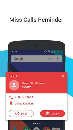 Android Caller ID - Phone Dialer & Call Blocker Screen 3