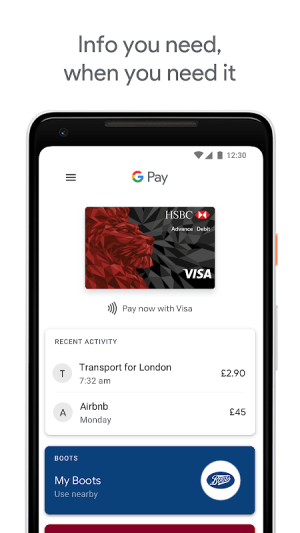 Android Google Pay Screen 4