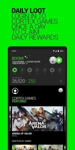Razer Cortex Games 5.1.594 Screen 1