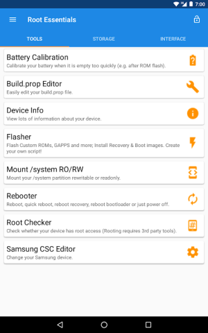 Root Essentials 2.4.9 Screen 17