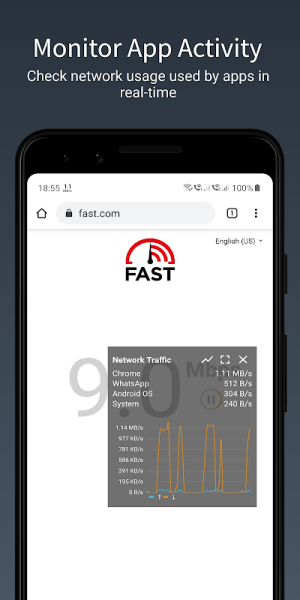 Speed Indicator - Network Speed - Monitoring Meter 2.3.5 Screen 7