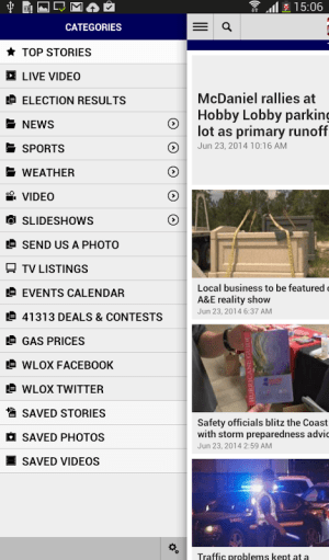 WLOX Local News 6.0.0 Screen 4