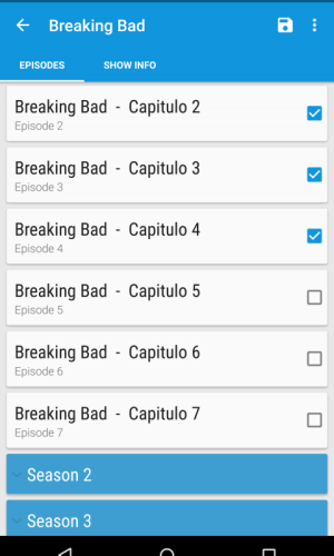 SeriesDroid S (Online Series) 2.6.7 Screen 3