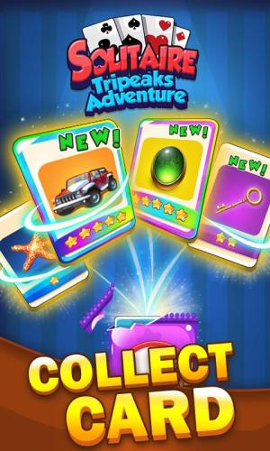 Solitaire Tripeaks Adventure - Free Card Journey 1.2.3 Screen 6