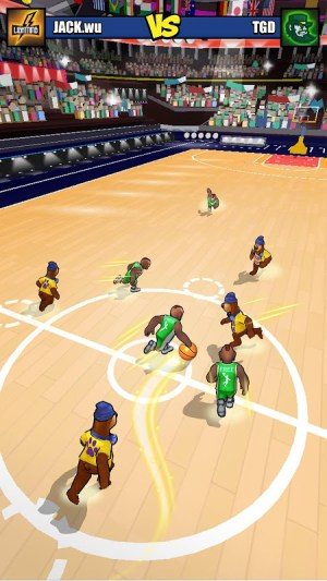 Basketball Strike 3.4 Screen 2