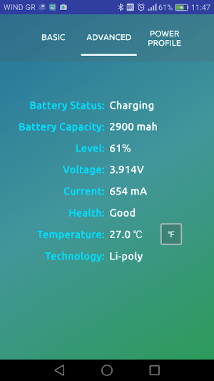 Charger Tester (ampere meter) 3.9 Screen 7