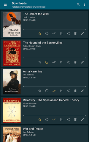 ReadEra - book reader pdf, epub, word 19.11.05+1020 Screen 20