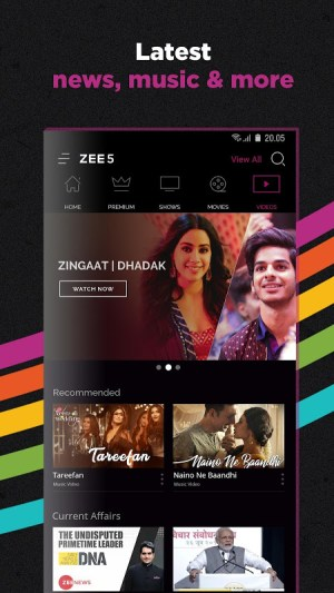 ZEE5 | LIVE TV + Original Movies & TV Series 14.15.9 Screen 5