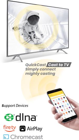 Cast to Chromecast Fire TV Android Smart TV ROKU 3.2.4.1 Screen 3