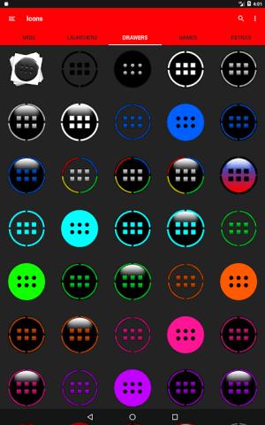 Half Light Cyan Icon Pack Free 2.3 Screen 11