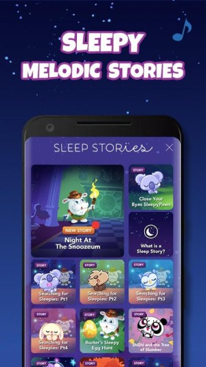 Moshi Twilight Sleep Stories: Calm Bedtime Aid 2.8.0 Screen 7