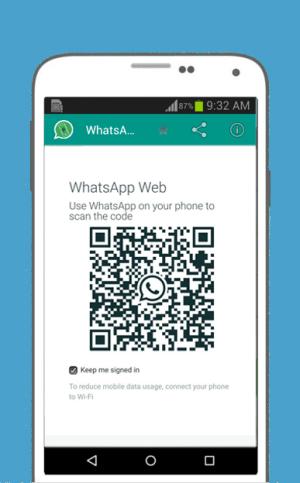 Android WhatsWeb For WhatsApp Web Screen 1