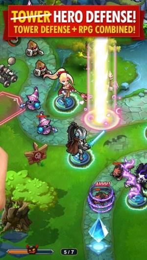Android Magic Rush: Heroes Screen 1