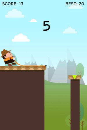 Android Rope Swing Screen 1