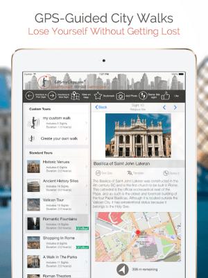London Map and Walks 51 Screen 5