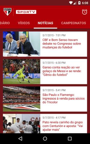 São Paulo SporTV 3.2.8 Screen 5