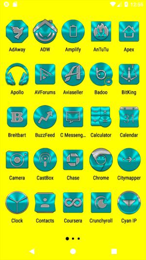 Cyan Icon Pack ✨Free✨ 3.8 Screen 15