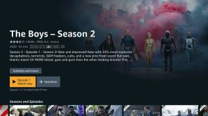Android Prime Video - Android TV Screen 3