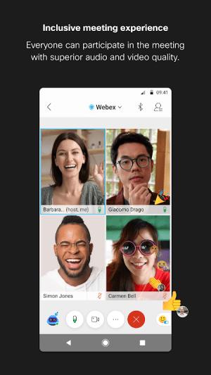 Cisco Webex Meetings 41.2.2 Screen 6