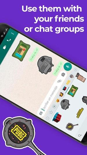 PUBG Stickers for WhatsApp Fan App 2020 1.1 Screen 5