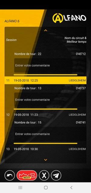 ALFANO ADA LIGHT 1.3.2 Screen 1