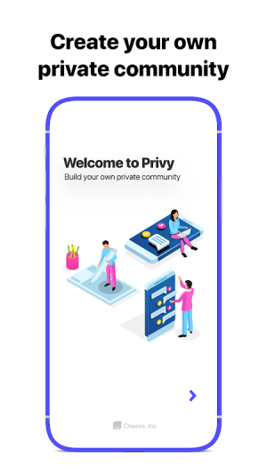 Privy Chat 3.8.1 Screen 2