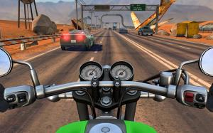 Android Moto Rider GO: Highway Traffic Screen 15