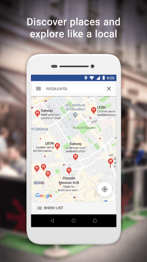 Google Maps Go – Directions, Traffic & Transport 130 Screen 5