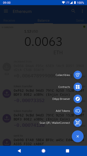Coinomi Wallet :: Bitcoin Ethereum Altcoins Tokens 1.15.6 Screen 4