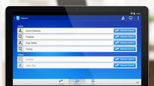 TeamViewer for Remote Control 10.0.2712 Screen 2