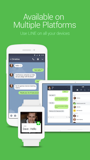 LINE: Free Calls & Messages 9.10.0 Screen 3