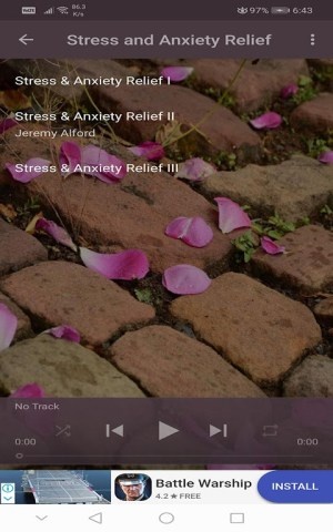 Android Guided Meditation Free App - Sleep & Relaxation Screen 4