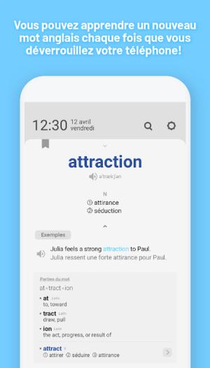 WordBit Anglais (mémorisation automatique ) 1.3.8.84 Screen 8