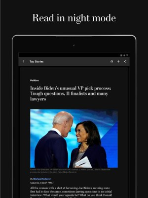The Washington Post 5.9.1 Screen 3