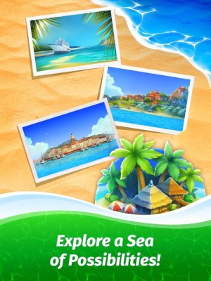 Android The Love Boat: Puzzle Cruise – Your Match 3 Crush! Screen 2