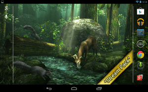 Android Forest HD Screen 8